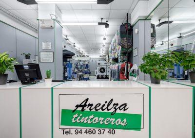 Entrada a la tintorería de Bilbao
