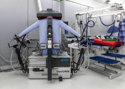 Robot de planchado de camisas tintorería Areilza